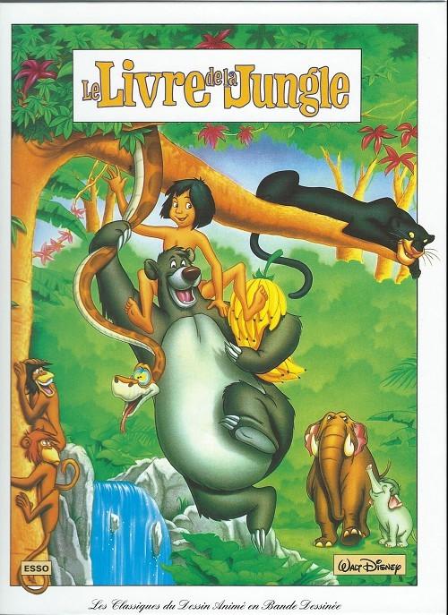 Les classiques du dessin anim en bande dessin e 7 le livre de la jungle - Dessin livre de la jungle ...