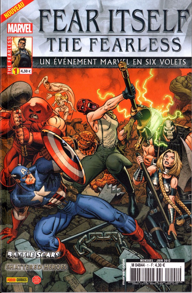 Couverture de Fear Itself : the Fearless (Panini) -1- The Fearless (1/6)