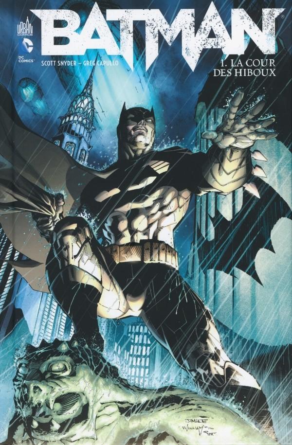 Couverture de Batman (DC Renaissance) -1- La Cour des Hiboux