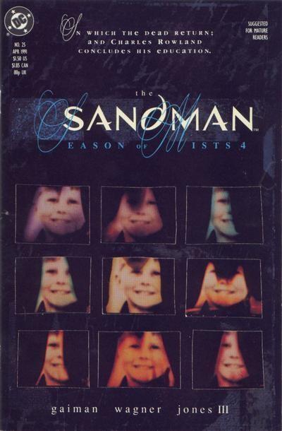 Couverture de Sandman (The) (1989) -25- Season of mists 4