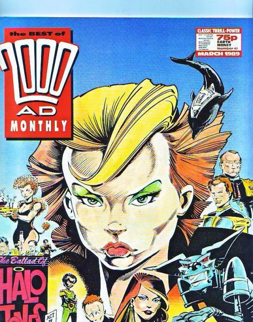 Couverture de Best of 2000AD Monthly (The) (1985) -42- The Ballad of Halo Jones act II