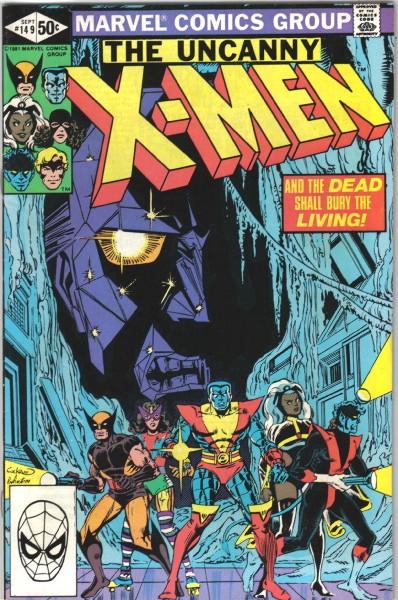 Couverture de Uncanny X-Men (The) (1963) -149- And the dead shall bury the living!