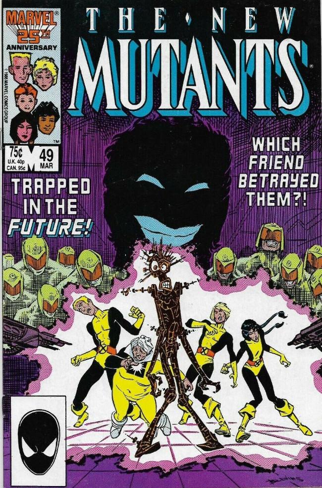 Couverture de New Mutants (The) (1983) -49- Ashes of the Soul