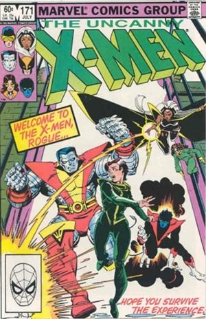 Couverture de Uncanny X-Men (The) (Marvel comics - 1963) -171- Rogue