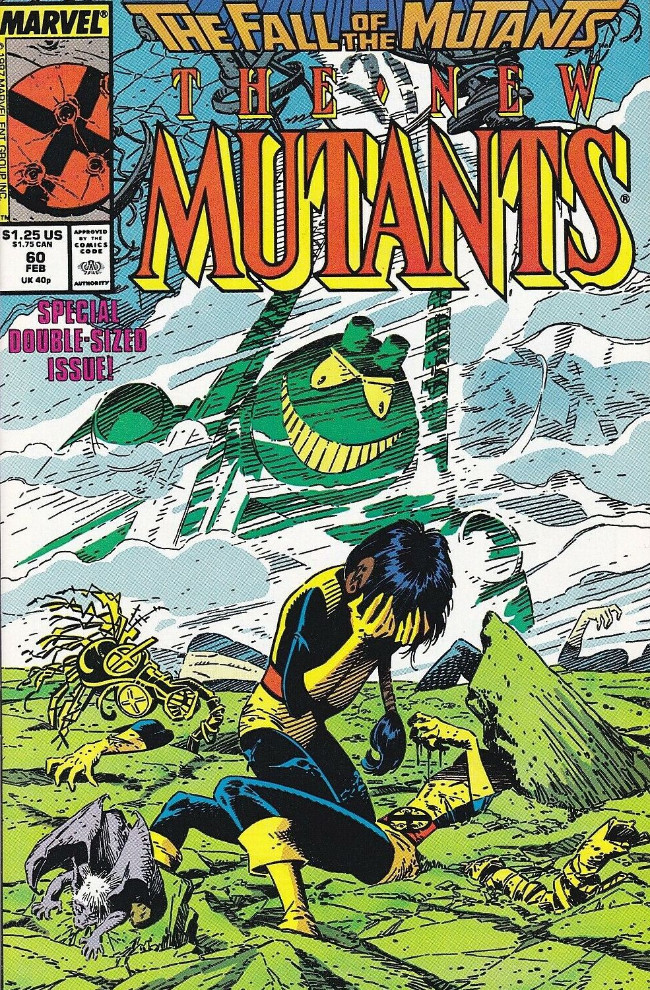 Couverture de New Mutants (The) (1983) -60- Suspended Ani-Mation !