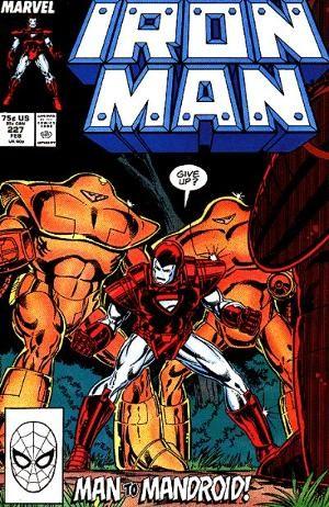 Couverture de Iron Man Vol.1 (Marvel comics - 1968) -227- The Last Mandroid