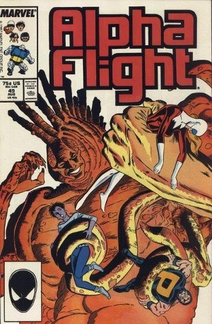 Couverture de Alpha Flight (1983) -49- Flesh of my flesh