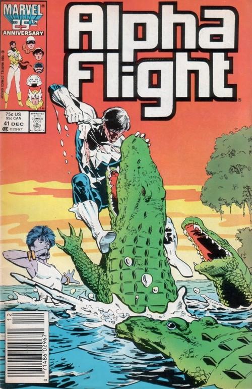 Couverture de Alpha Flight (1983) -41- It's not easy being purple