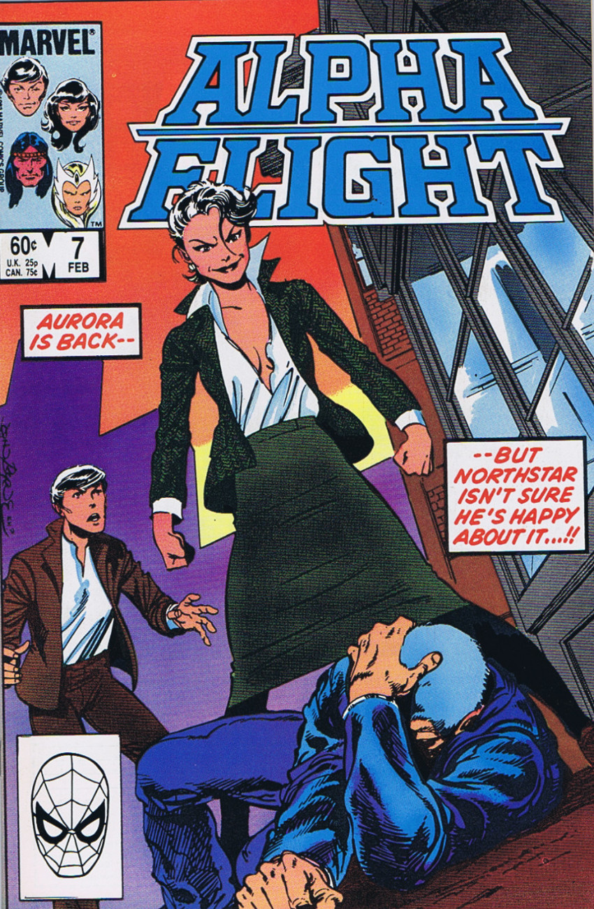 Couverture de Alpha Flight (1983) -7- The importance of being deadly