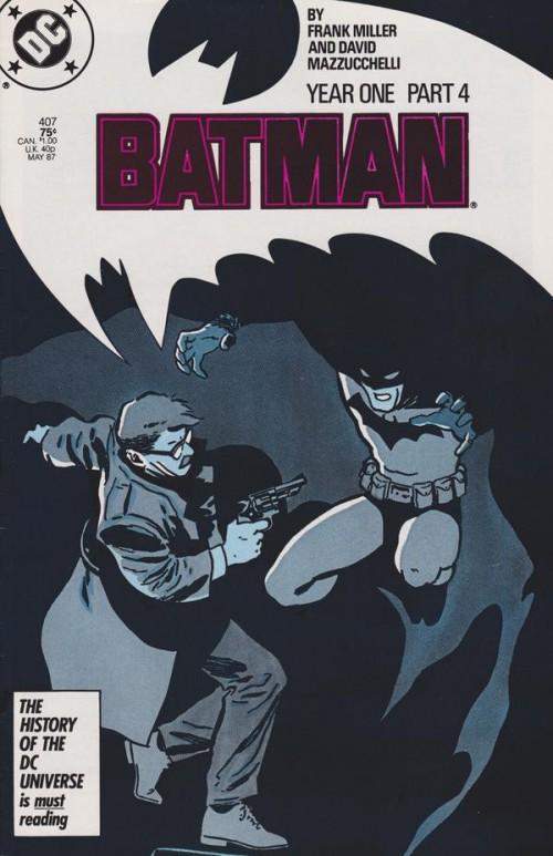 Couverture de Batman Vol.1 (DC Comics - 1940) -407- Year 1 (Part 4) - Friend in need