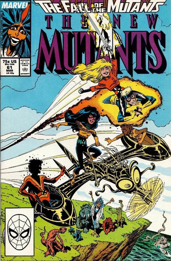 Couverture de New Mutants (The) (1983) -61- Our Way !