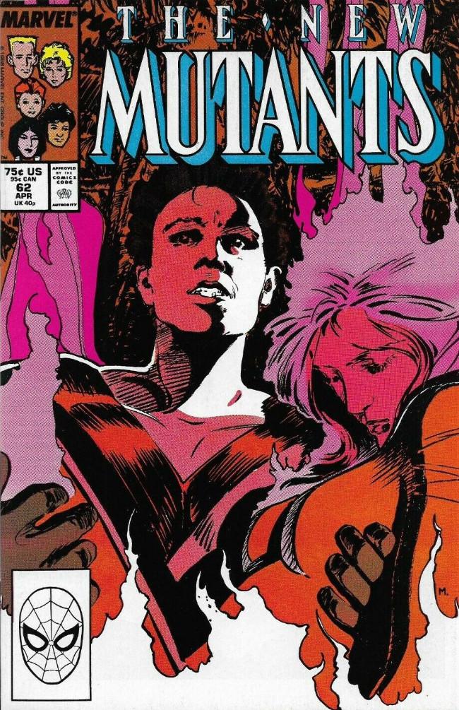 Couverture de New Mutants (The) (1983) -62- To Build a Fire