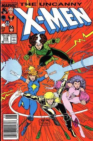 Couverture de Uncanny X-Men (The) (1963) -218- Charge of the light brigade