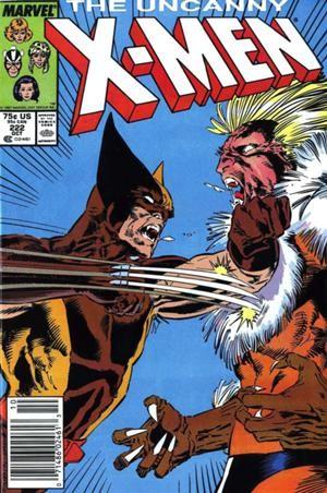 Couverture de Uncanny X-Men (The) (1963) -222- Heartbreak