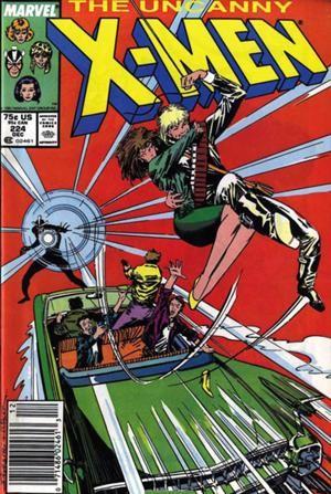 Couverture de Uncanny X-Men (The) (1963) -224- The dark before the dawn