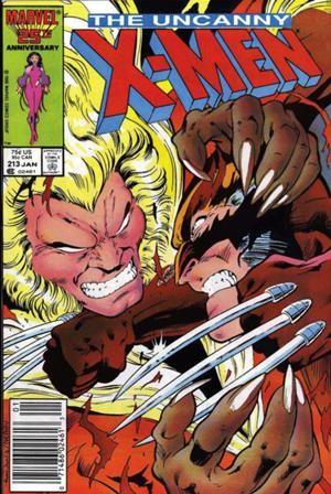 Couverture de Uncanny X-Men (The) (Marvel comics - 1963) -213- Psylocke