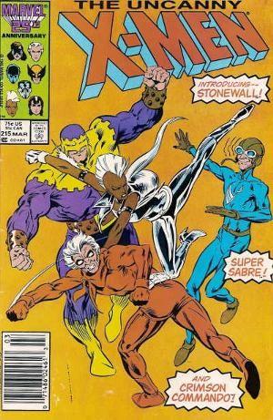 Couverture de Uncanny X-Men (The) (1963) -215- Old Soldier