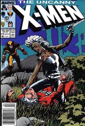 Couverture de Uncanny X-Men (The) (Marvel comics - 1963) -216- Crucible