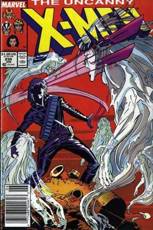Couverture de Uncanny X-Men (The) (1963) -230- Twas the night