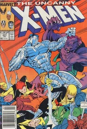 Couverture de Uncanny X-Men (The) (Marvel comics - 1963) -231- Dressed for dinner !