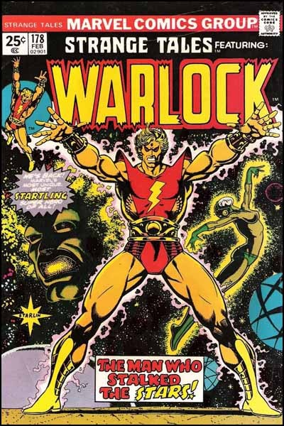 Couverture de Strange Tales (Marvel - 1951) -178- Who is Adam Warlock ?