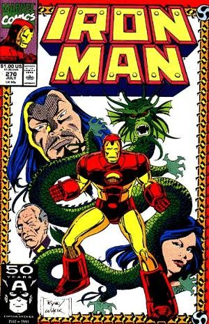 Couverture de Iron Man Vol.1 (Marvel comics - 1968) -270- The Price