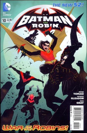 Couverture de Batman and Robin (2011) -10- Terminus: Scar of the Bat