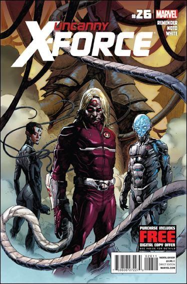 Couverture de Uncanny X-Force (2010) -26- Final execution part 2