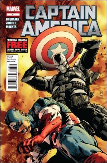 Couverture de Captain America (2011) -13- Shock to the system part 3