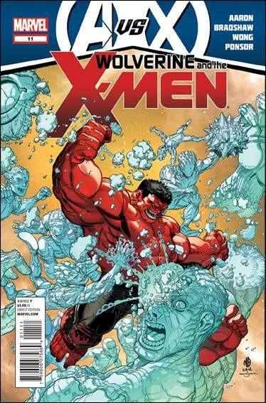 Couverture de Wolverine and the X-Men Vol.1 (Marvel comics - 2011) -11- Got hope ?