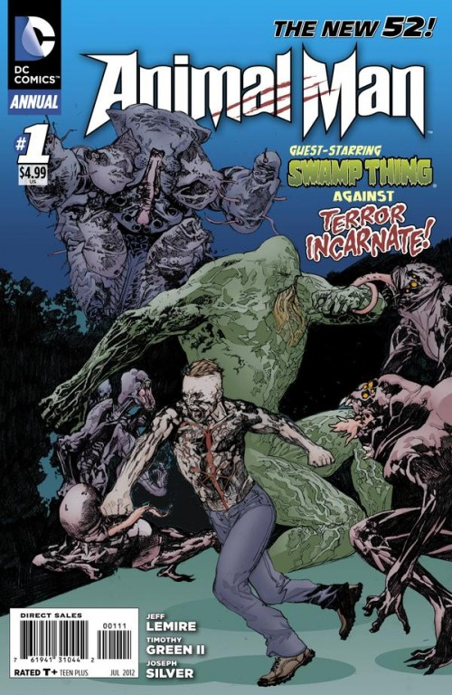Couverture de Animal Man (2011) -AN01- Annual 1: Endless Rot