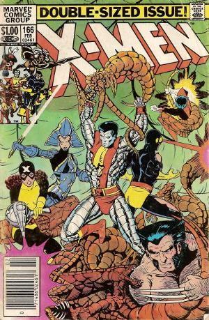 Couverture de Uncanny X-Men (The) (Marvel comics - 1963) -166- Live free or die !