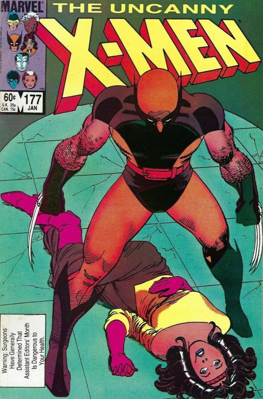 Couverture de Uncanny X-Men (The) (Marvel comics - 1963) -177- Sanction
