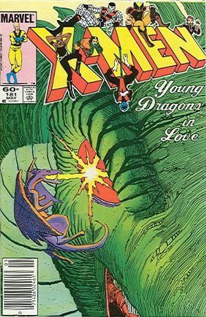 Couverture de Uncanny X-Men (The) (Marvel comics - 1963) -181- Tokyo story