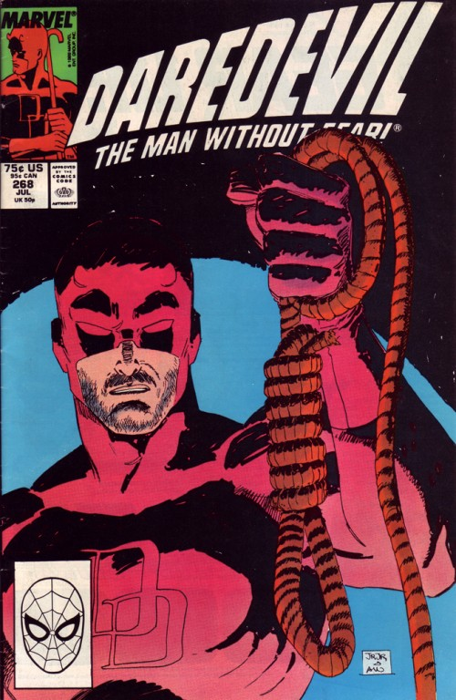 Couverture de Daredevil (1964) -268- Golden Rut