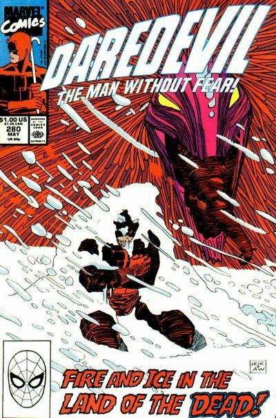 Couverture de Daredevil (1964) -280- Twilight of the idols