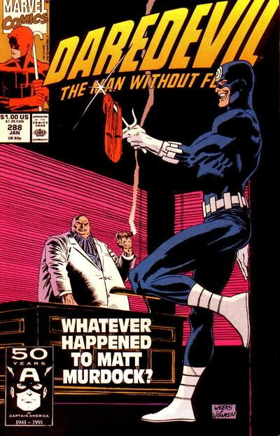 Couverture de Daredevil Vol. 1 (Marvel - 1964) -288- The student