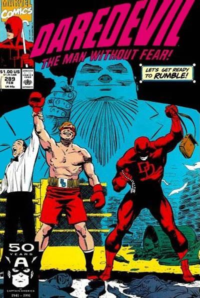 Couverture de Daredevil Vol. 1 (Marvel - 1964) -289- Hero