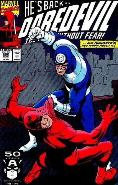 Couverture de Daredevil (1964) -290- Bullseye !