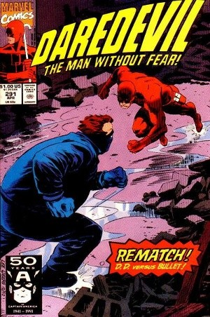 Couverture de Daredevil Vol. 1 (Marvel - 1964) -291- All the news that fits