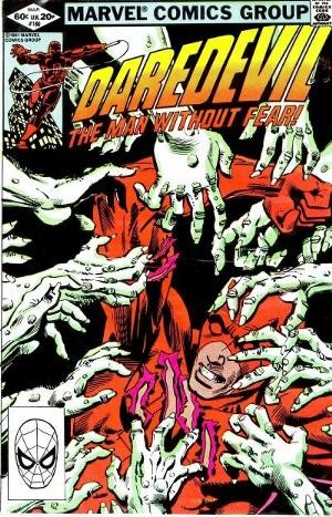 Couverture de Daredevil (1964) -180- The Damned