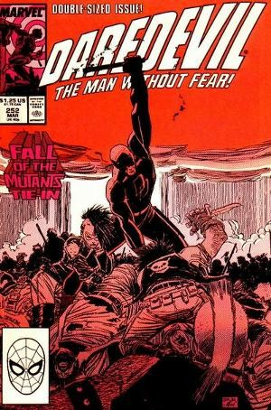 Couverture de Daredevil (1964) -252- Ground Zero