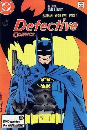 Couverture de Detective Comics Vol 1 (1937) -575- Fear the reaper