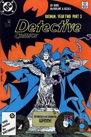 Couverture de Detective Comics Vol 1 (1937) -577- Deadly Allies