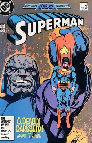 Couverture de Superman (1987) -3- Legends from the Darkside