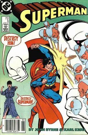 Couverture de Superman Vol.2 (DC comics - 1987) -6- The Last Five Hundreds