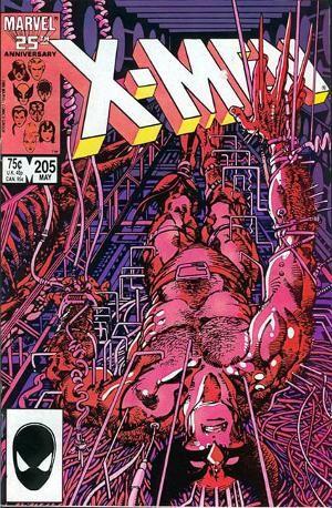 Couverture de Uncanny X-Men (The) (1963) -205- Wounded Wolf