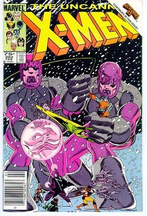 Couverture de Uncanny X-Men (The) (Marvel comics - 1963) -202- X-Men... I've Gone To Kill -- The Beyonder!