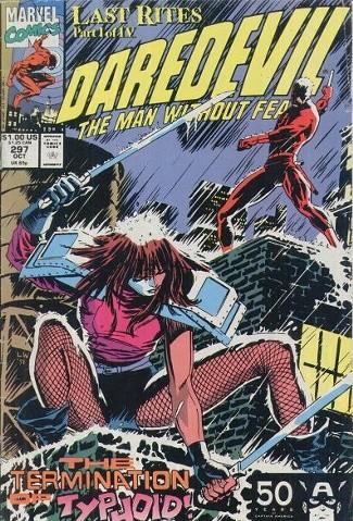 Couverture de Daredevil Vol. 1 (Marvel - 1964) -297- Passion Part 1