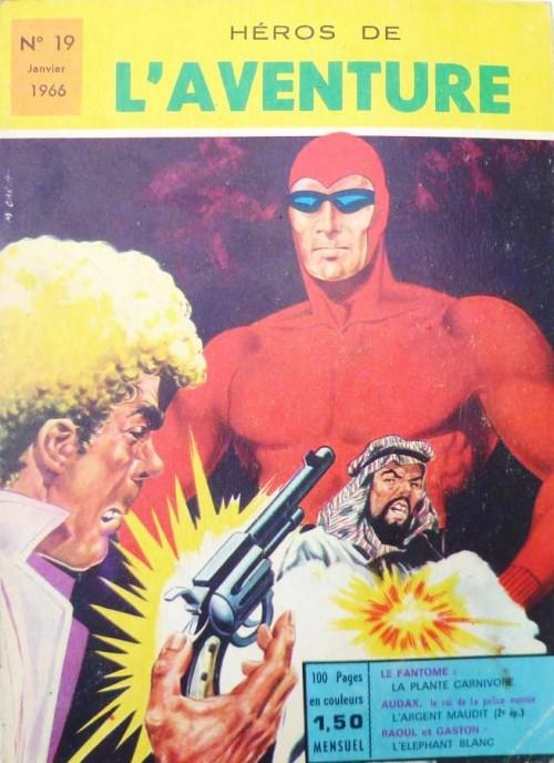 Couverture de Les héros de l'aventure (Classiques de l'aventure, Puis) -19- Le Fantôme : La plante carnivore